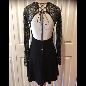 NWOT~Foxiedox~Anthropologie~Backless Fit & Flare